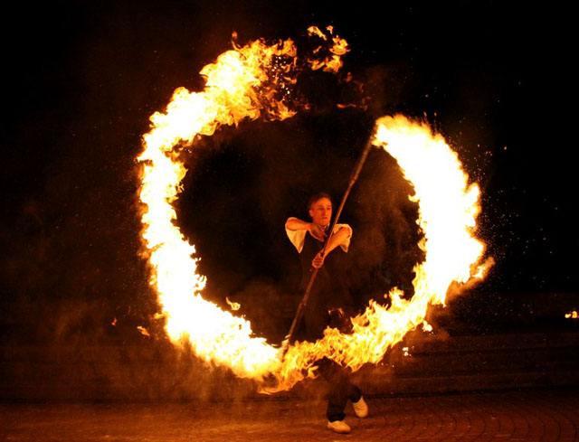 Feuershow-Act