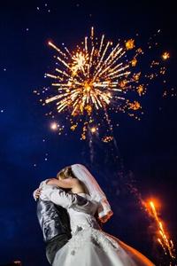 Ein Feuerwerk an Hochzeitsmusik